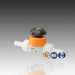 Стандарт ISO разъем Fusion типа ПВДФ мембранный клапан для химической промышленности процесса