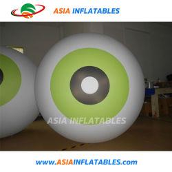 Gigante inflable Eye Ball para Outdoor Indoor decoración colgante