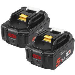 Waitley 18V 5.0ah Bl1850 b сменный аккумулятор совместим с Makita 18В. BL1830b Bl1860b Bl1820 Bl1850 Bl1860 Bl1840 Bl1815 Lxt-400 с светодиодный индикатор питания дисплея