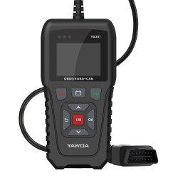 Новые Ya301 Obdii/Код бортовой системы диагностики OBD 2 устройство чтения карт памяти USB обновить автоматический диагностический инструмент поддержки график потока данных автомобиля OBD2 сканер Pk квт850 Elm327