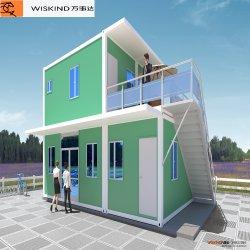 2020 Conteneur/préfabriqué/maison préfabriquée pour Camp de travail avec cuisine / toilettes / / / d'ablution Hôpital Clinique/Gardiennage en cas de catastrophe chambre