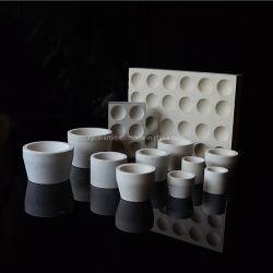 Gratis Monster Magnesium Oxide Ceramic Cupel Magnesia Pot Crucible Ceramic