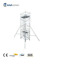 toren van het Aluminium van de Steiger van het Aluminium van de Veiligheid van 3m/5m/7m/9m/11m de Mobiele