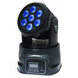 Indicatore luminoso capo mobile dell'interno di 7X15W 6in1 LED per le barre