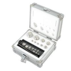 F1 OIML Inox 316 Material 1G-2kg Balança de laboratório pesos de teste de precisão