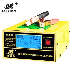 Goed verkopend 12 V 24 V 10 een LCD Lader van de Batterij van de Auto van het Lood van de Digitale Vertoning Zure