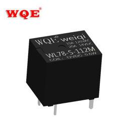 (WL78) peças automáticas do relé automóvel miniatura T78 para automóvel preto Cubra os relés de 20 a 14 V CC, ligar/ligar/desligar Dispositivo