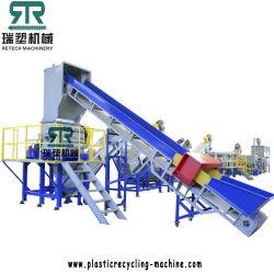 플라스틱 PP PE ABS PET PVC 압착 침몰 - 유동 분리 라벨 생산 라인 제거