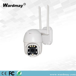 Wdm 2,5 polegadas objectiva fixa de HD 2.0MP IP Wireless WiFi plástico Dome PTZ CCTV Câmara IP