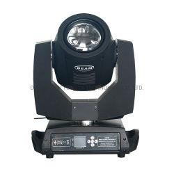 7r 230W luz HID moviendo la cabeza de la luz de la etapa haz