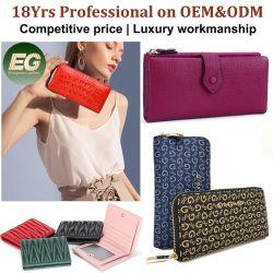 2021 echte echt lederen Dames Portefeuilles Dames kwaliteit Fashion Portefeuilles Beroemde ontwerper Lady Wallet Groothandel Luxe Merk Mannen Wallet Guangzhou Fabriek OEM aangepast
