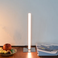 Tube lampe de bureau à LED Hotel Chambre moderne de la lampe de table de chevet
