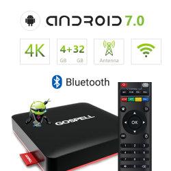 7.0 de Android TV Box Ott Decodificador 4K