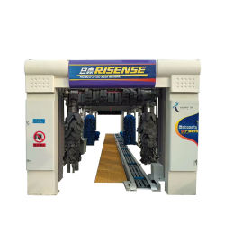 Hot Sale Tunnel Automatique Machine de lavage de voiture d'équipement, outils de nettoyage rapide avec système de séchage Risense CC-690