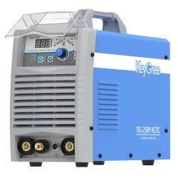 TIG Keygree-250 impulsion avec AC/DC en aluminium de soudage TIG Synergie IGBT Argon Arc/MMA inverter welding Machine portable