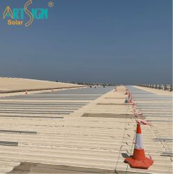 Las estructuras de fijación de la PV de soportes de techo solar PV estantería