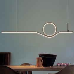 실내 디자인 홈 데코 모던 라인 LED 펜던트 조명 레스토랑