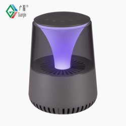 China Fabricante Alto-falante Bluetooth Ionizador Ar purificador de ar iónico de hotel