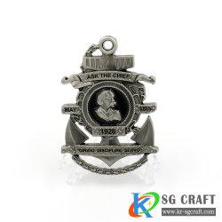 Agent de police Prix Défi souvenirs Coin coin de fer d'anciennes pièces Machine à Laver à Coin Machine de jeu Coin poussoir pour la vente de la machine