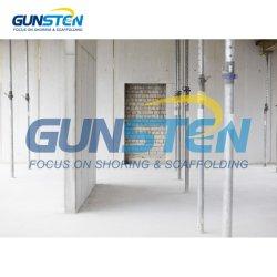 Bauunternehmen-Herstellungs-Shuttering Steckfassungen verwendete Rahmen-Baugerüst-Baugerüst-Stahlstütze mit Hot-DIP galvanisiertem Metallstahl