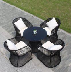 제조업체 테이블과 의자 실외 정원 레저 가구 커피숍 바 등나무 식탁과 의자 등나무 가구