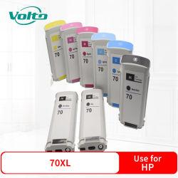 Compatível HP 70XL Impressora enchimento do cartucho de tinta para Designjet Z2100 Z3100 Z3100 GP Z3200 Z3200ps Z5200ps
