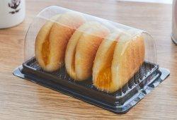 Food Grade купол удалите одноразовые долго швейцарских рулон пекарня выпечка торт пластиковой упаковке