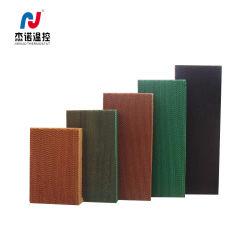 Mejor calidad de color verde almohadilla de refrigeración industrial