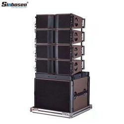 Профессиональный ди-джей линейный массив звук динамиков ка208 8 дюйма PA АС для этапа