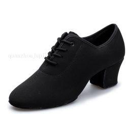 De alta calidad personalizado tela Oxford Vals de salón de baile Zapatos de Baile latino