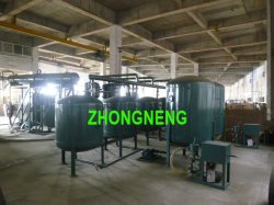 Haut efficaces des déchets, de raffinerie d'huile moteur de voiture d'usine de distillation