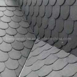 Forma redondeada en forma de arco pizarra para tejados Teja