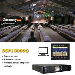 Placa do amplificador DSP DSP10000T 4 canais de som potente amplificador grande show de Karaoke