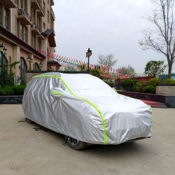 De in het groot Goedkope Zilveren Waterdichte Sunproof Dekking van de Pyjama van de Auto van de Sedan van de Tent SUV