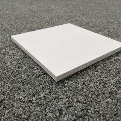Densité différente de la feuille de plastique blanc feuille de mousse PVC d'impression personnalisée