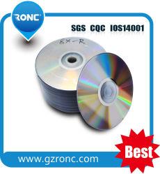 Prezzo conveniente all'ingrosso di DVDR 8X vuoto da 4,7 GB con logo personalizzato stampato