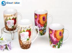 세라믹 Porcelain Photo 커피 머그컵
