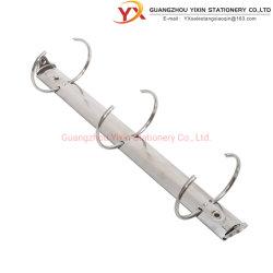 La cancelleria dell'ufficio facile apre la clip d'acciaio dell'archivio del hardware della cancelleria del metallo dell'anello rotondo 3 con gli inneschi