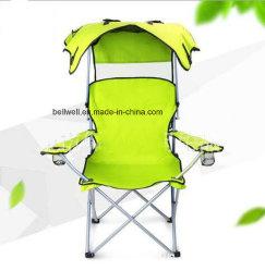 일요일 닫집 어업 의자를 가진 조정가능한 옥외 접히는 여가 야영 어업 비치용 의자