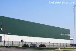 Het geprefabriceerde Pakhuis van de Logistiek van het Metaal van de Bouw van het Structurele Staal