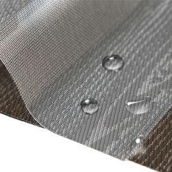 Tissu imperméable résistant Dim hors de la crème solaire tissu aveugle