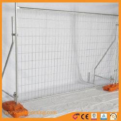 Fabriqué en Chine La norme de sécurité de l'Australie de treillis soudé panneau clôture temporaire