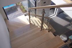 Inox стеклянные лестницы Balustrade Поручни из нержавеющей стали для использования вне помещений шаги