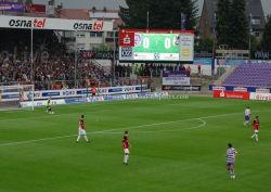 Синхронный индикатор вещания за счет по периметру стадиона (P8, P10, P16)