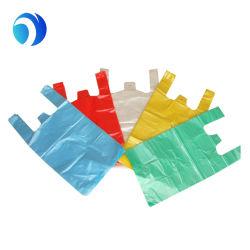 الطباعة المخصصة التغليف البلاستيك حقائب على شكل حرف T المواد القابلة للتحلل البيولوجي