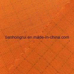 Prodotto tinto intessuto saia antistatica 100% del cotone del tessuto del Workwear del Manufactory di Wuhan
