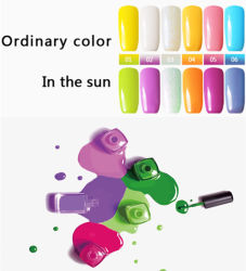 Lack-Produkte tränken weg vom Nagel-Licht-Änderungs-Gel