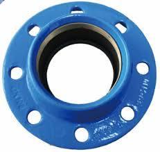 Pn16 Ggg50 duktiler Eisen-Rohrfitting-schneller Adapter mit dehnbarem Ring für PET Rohr