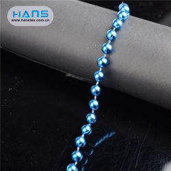 Hans ODM/conception OEM pour perles de plastique coloré en vrac pour le commerce de gros
