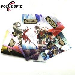 Quattro biglietti da visita di plastica del PVC della scheda RFID della graffiatura di stampa di Cmyk di colore